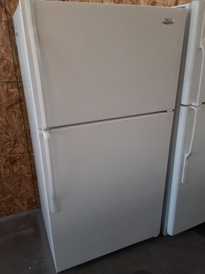 $199 Whirlpool White 20 cubic fridge includes delivery in the San Fernando Valley a warranty and installation for Sale in Los Angeles, CA