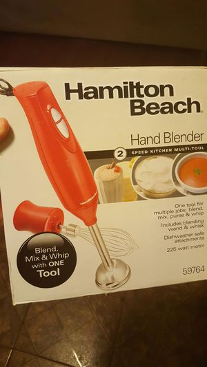 "Hamilton beach hand blender "" batidora "" for Sale in Fort Lauderdale, FL"
