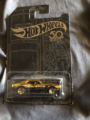 50th anniversary hotwheels and gold chase camaro for Sale in Rancho Cucamonga, CA