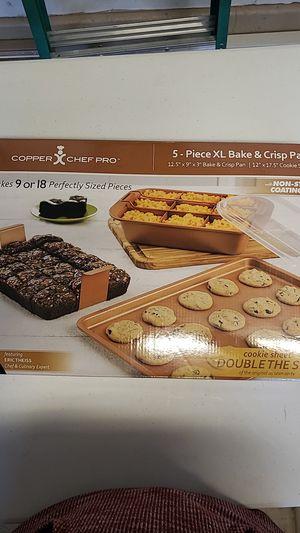 Copper ChefPro Bake & Crisp Pan for Sale in North Las Vegas, NV