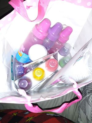 Lil baggy of goodies.. Bottles, Scubby, pacifiers for Sale in Phoenix, AZ