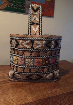 Vintage Crewel tote bag purse for Sale in Des Moines, WA