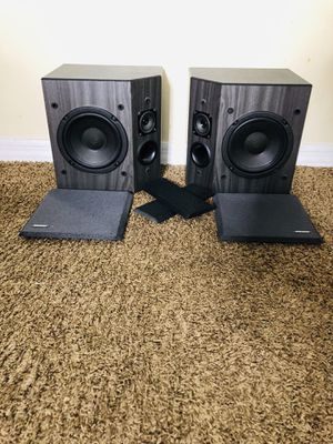 Bose 2001 Direct / Reflecting Stereo Speakers Matched Pair Black for Sale in Tampa, FL
