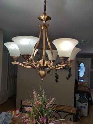 Light chandelier for Sale in San Antonio, TX