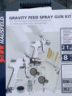 NEW Campbell hausfeld Spray Gun Kit for Sale in Severna Park,  MD