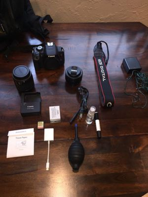 Canon T5i DSLR Camera Bundle!! for Sale in Upland, CA