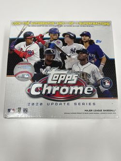 2020 Topps Chrome Update - MLB Baseball Mega Box! ⚾️⚾️ 1 brand new box factory sealed for Sale in Vancouver,  WA