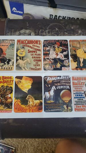 Vintage circus stickers for Sale in Issaquah, WA