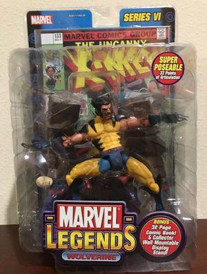 Wolverine series VI Marvel Legends Collectible Action figure for Sale in Seffner, FL