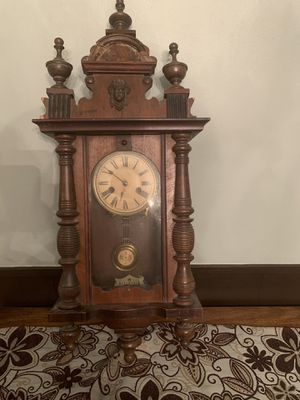 Antique German Wall Clock for Sale in Harker Heights, TX