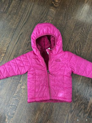 North face Reversible Mossbud Swirl Jacket 12-18 months $10 for Sale in Chicago, IL