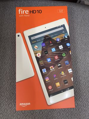 Fire HD 10 32gb Tablet Band New in box for Sale in Corona, CA