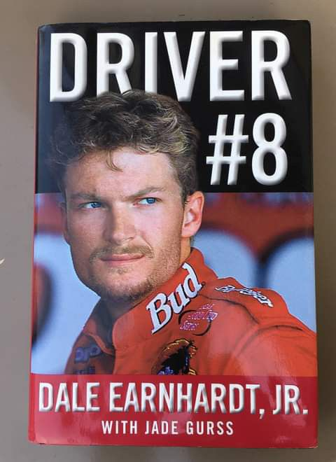 BRAND NEW NEVER USED Dale Earnhardt Jr Book First Edition