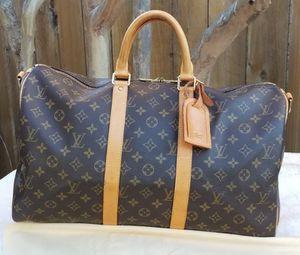 Authentic Louis Vuitton Boston Bag Keepall Bandouliere 45 for Sale in Arlington, TX