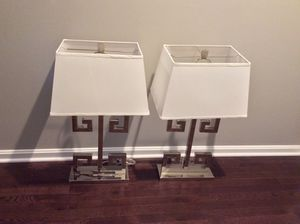 Lamp set of 2 for Sale in Lanham, MD
