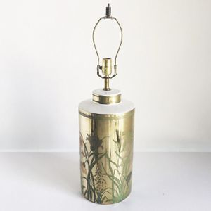 Brass Painted Large Lamp for Sale in Dallas, TX