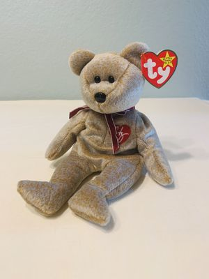 """""""Signature"""" 1999 Signature Bear TY Beanie Baby Retired for Sale in Austin, TX"""