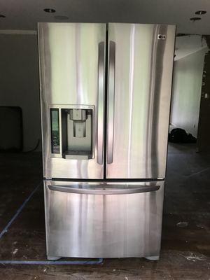 LG 20.5 cu ft French Door Fridge for Sale in Sandy Springs, GA