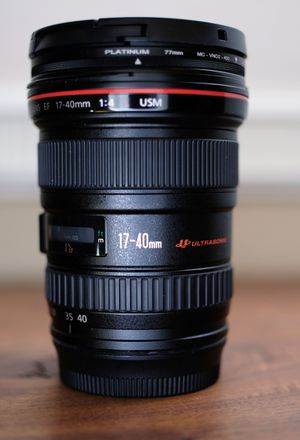 Canon 17-40mm L lens for Sale in Chino, CA