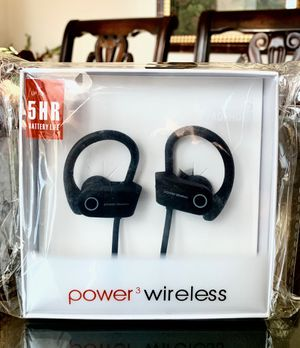 Black Power Wireless Earphones for Sale in Norco, CA