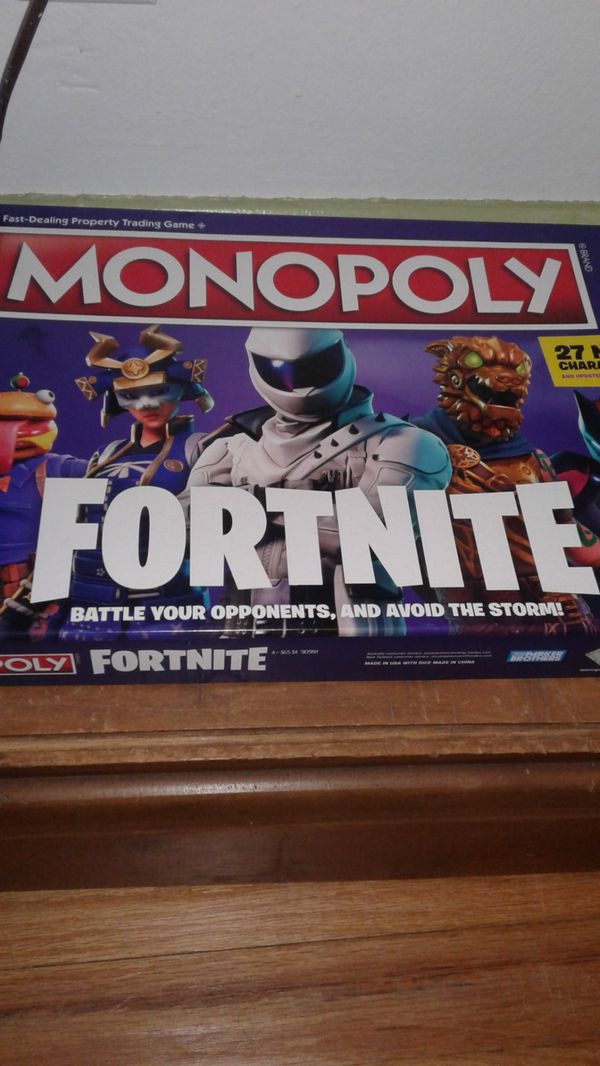fortnite monoply
