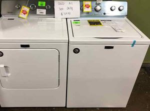 Brand New Maytag Washer/Dryer Set NT for Sale in Irving, TX
