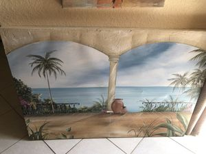 Hand Painted Original Canvas Painting for Sale in Miramar, FL