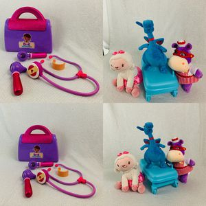 Lot doc mcstuffins case and suffed for Sale in Rancho Cordova, CA