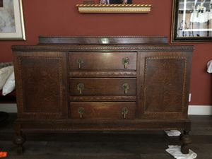 Antique Buffet Cabinet for Sale in Belmont, CA