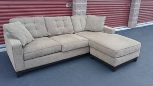 Beautiful Macy's sectional couch for Sale in Bothell, WA