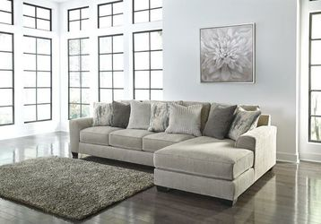 Ardsley Pewter RAF Sofa Chaise for Sale in Round Rock,  TX