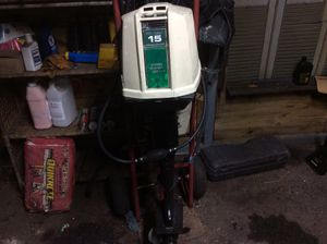15 horse outboard motor needs pole cord for top of motor what does Ron for Sale in Fort Worth, TX