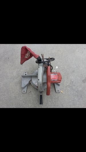 Used, Milwaukee Heavy Duty magnum 10 miter saw for Sale for sale  Shelton, CT