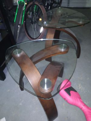 2 End tables for Sale in Lakeland, FL