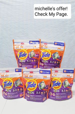Tide Pods 3in1 16ct set/ Spring meadow for Sale in Fort Washington, MD