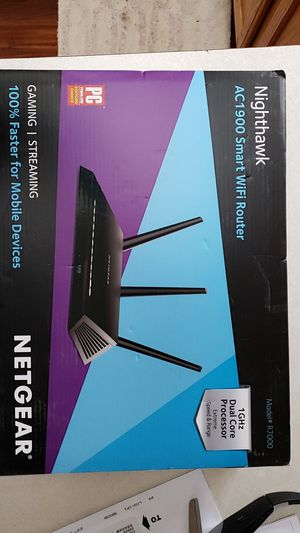 Netgear router NightHawk 1Gig for Sale in Graham, WA