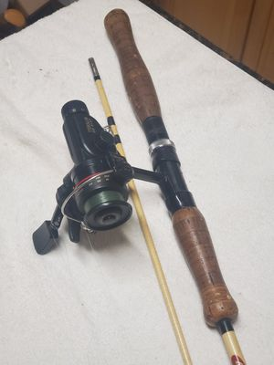 Fishing pole and reel, Vintage Langley rod. for Sale in Portland, OR