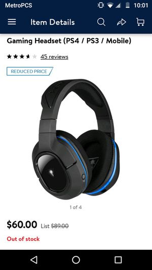 PS4 headset for Sale in Hapeville, GA