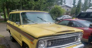1976 jeep wagoneer for Sale in Graham, WA