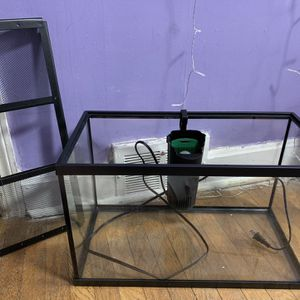 Aquarium With Water Filter And Lid for Sale in Philadelphia, PA
