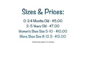 Custom Sub Socks Sizes and Prices for Sale in San Antonio, TX