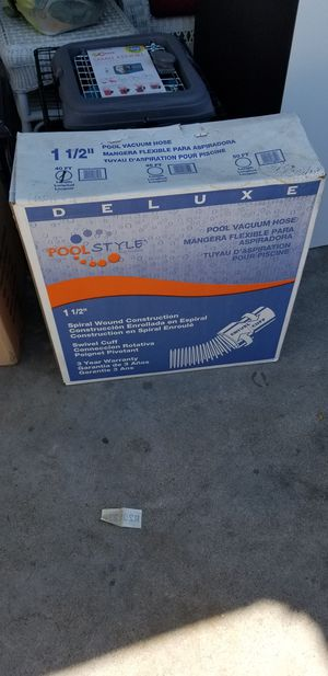 Pool flexible hose 40 ft. New for Sale in Fresno, CA