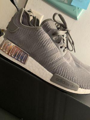 Adidas NMD R1 Shoes - Women's - Grey Three / Grey Three / Silver for Sale in Anaheim, CA