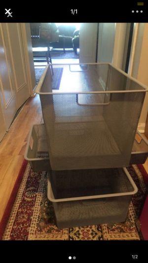 Metal storage bins for Sale in Washington, DC