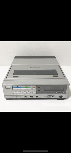 Panasonic VHS vintage electronics for Sale in Merrick, NY