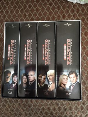 DVD Battlestar Galactica - the complete series $35 for Sale in Houston, TX