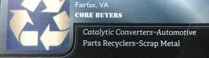 Your local scrap metal buyer for Sale in Fairfax, VA