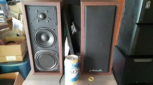 PRICE DROP!!! Vintage Polk Audio Mini Monitor speakers for Sale in Joliet, IL