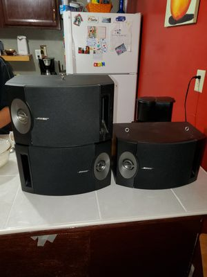 4 BOSE 201 speakers for Sale in Adelphi, MD