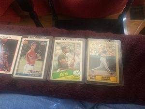 Baseball cards, rookie, topps, mint for Sale in Cambridge, MA